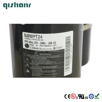 Residential air conditioner parts 5830Btu 50Hz LG rotary compressor QA102P  factory price, View 5830Btu 50Hz LG rotary compressor , LG Product Details