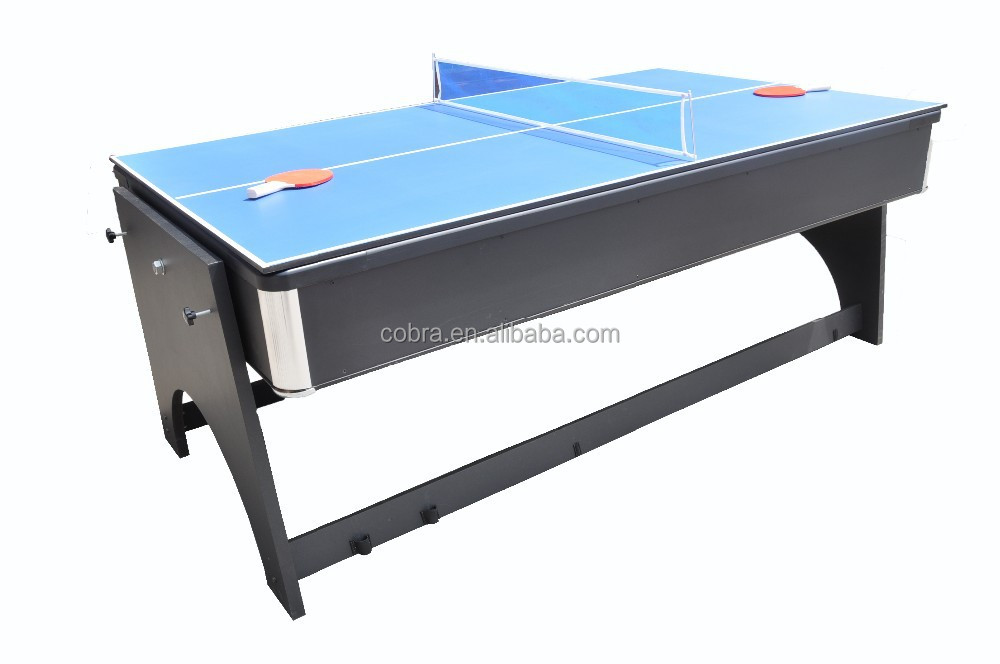 Revisble Air Hockey Table,Dinner Table,Tennis Table,Billiard Table,Kbl B1204  With 4 Different Function,Indoor For Home   Buy 4 In 1 Folding Air Hockey  Table ...