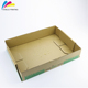 wholesale factory made full color custom printed paper wax corrugated box