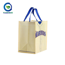 Fashion style folding non woven shopping bag