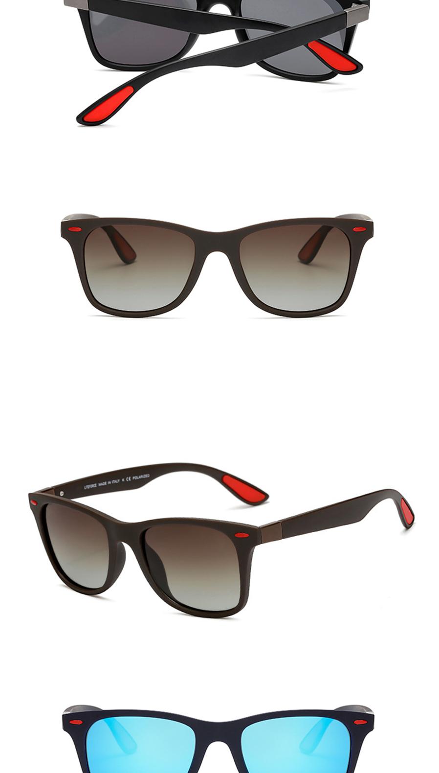 nya TR90 män och kvinnor polariserade solglasögon 1.1 lins ... 4caf18042d7dc