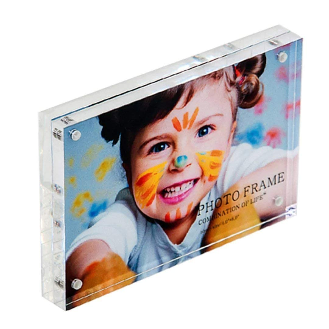 5pack of Original Magnet Acrylic Photo Frame Picture Frame (4x6 inches)