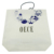 Blue in White Luxury Custom Paper Bag For Garments