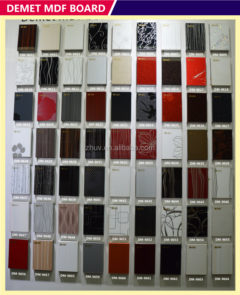 Kitchen Cabinet Door Manufacturers Foshan Manufacturer High Gloss Laminate Sheet For Kitchen Cabinet