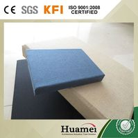 factory supply decorative fiberglass acoustic soundproof ceiling / wall panel
