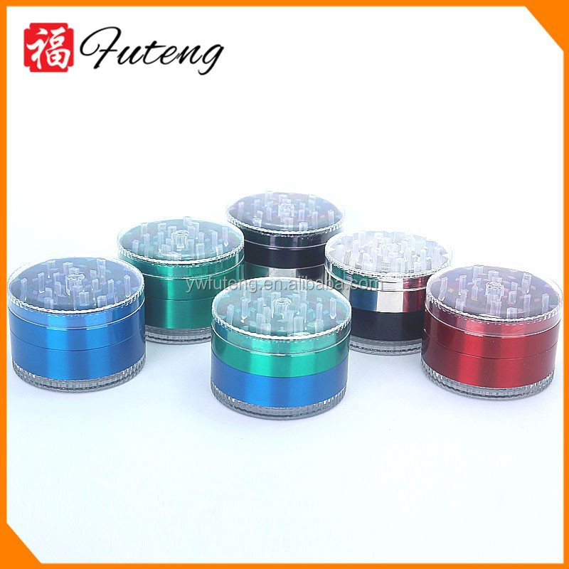 Factory directly diamond teeth Magnetic cigarette Custom tobacco grinder manual cigarette herb grinder