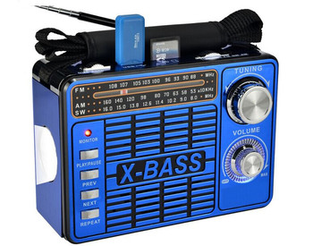 low price AM FM SW 3band portable radio with usb sd card