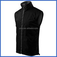 Black wholesale waterproof sleeveless running vest