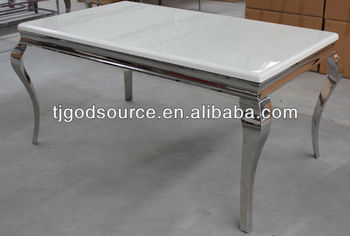 stainless steel dining table with marble top granite top dining tables