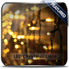 led christmas string fairy wedding curtain light