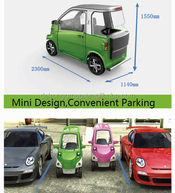 M 4 Wheels 2 Seaters Mini Electric Car Customized Color Automobile