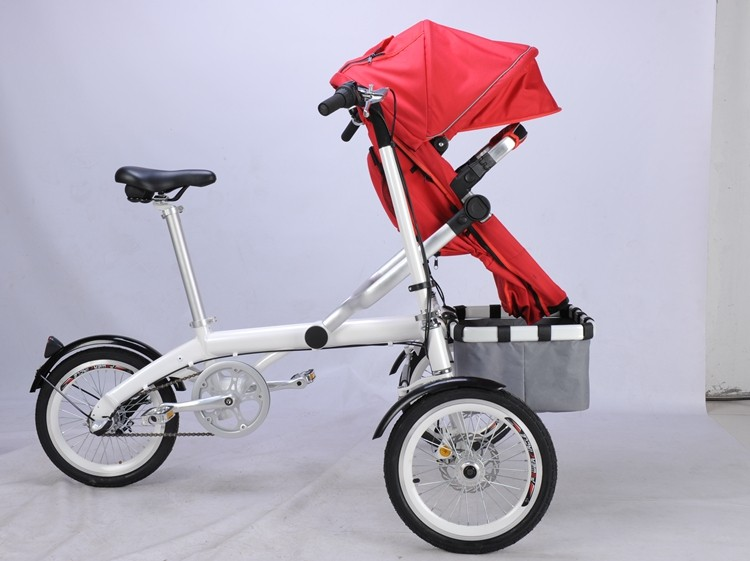 Mother 39 s small folding electric bicycle best baby Motorized baby stroller