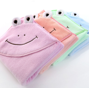 2018 animal cotton new desgin baby hooded towel bamboo baby hooded towel hooded towel baby