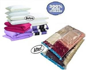 24 PACK Wholesale Vacuum Seal Storage Bag Space Saver EXTRA LARGE size