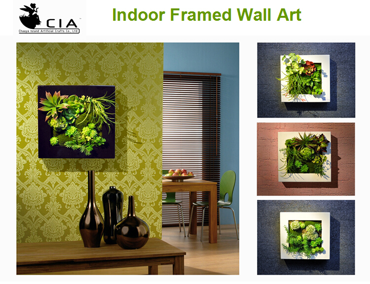 Vertical Wall Decor vertical green wall art living wall art cheap artificial plants