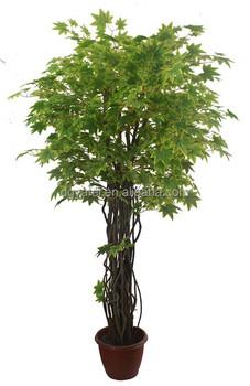 Maple Jepang Leaves Buatan Bonsai Hijau Tanaman Palsu Pohon Mini Palsu Tanaman Kecil Buy Dekoratif Mini Pohon Rumah Buatan Pohon Bonsai Live Mini