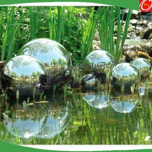 Alibaba & Floating Stainless Steel Orbs Ball for Pond Decoration