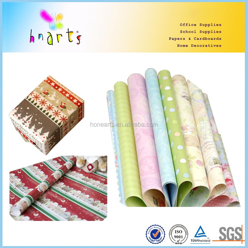 handicraft wrapping paper,wrapping paper for birthday