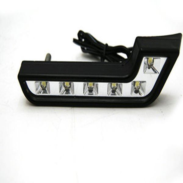 Automotive LED Day time Running Lights DRL lights L Shape for Mercedes