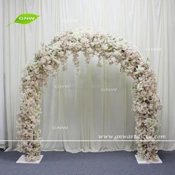 Gnw Flwa1707009 Colorful Cherry Blossom Wedding Entrance For Stage Arrangement Buy Wedding Entrance Wedding Entrance Decoration Wedding Arch Product