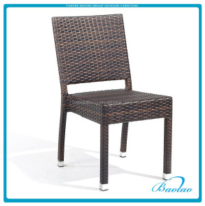 synthetic rattan wicker chair side chair coffee bistro chair