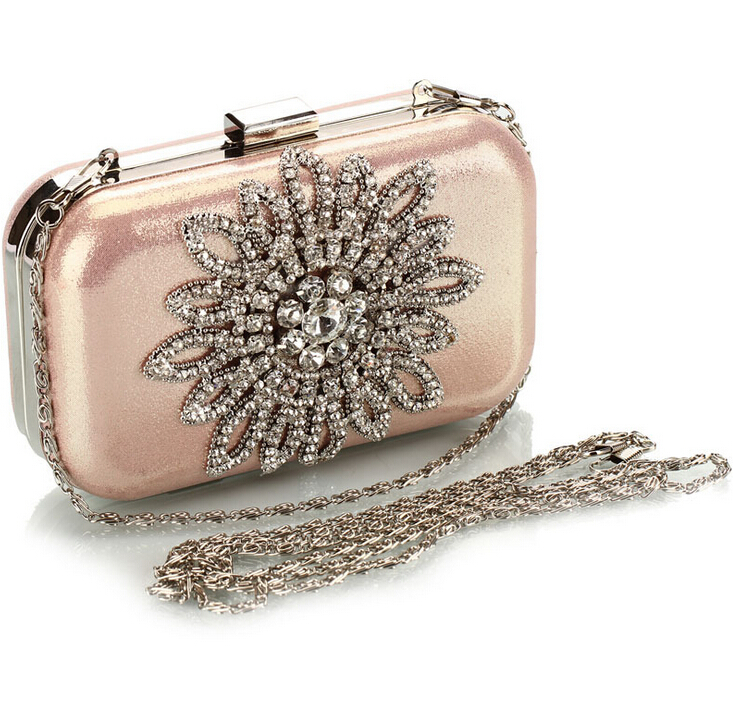 77fd384bd638 Get Quotations · Hot sale Gold ladies crystal handbags Shinying Evening  Bags Luxury bridal wedding day clutches Party bags