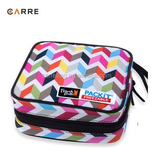 0668223a332b zip closure reusable insulated sandwich cooler bag
