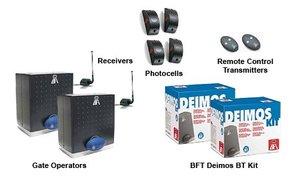 BFT Deimos BT Dual Residential Slide Gate Operator Kit