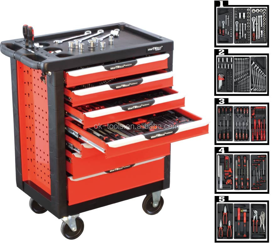7 Drawers Metal Multifunction Tool Cabinet,Stainless Steel,Cabinet ...