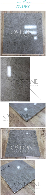 Light Grey Ceramic Tile Floor Polished Porcelain Tiles 600x600