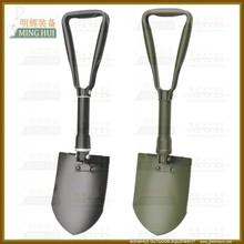 steel folding handle with shovel head