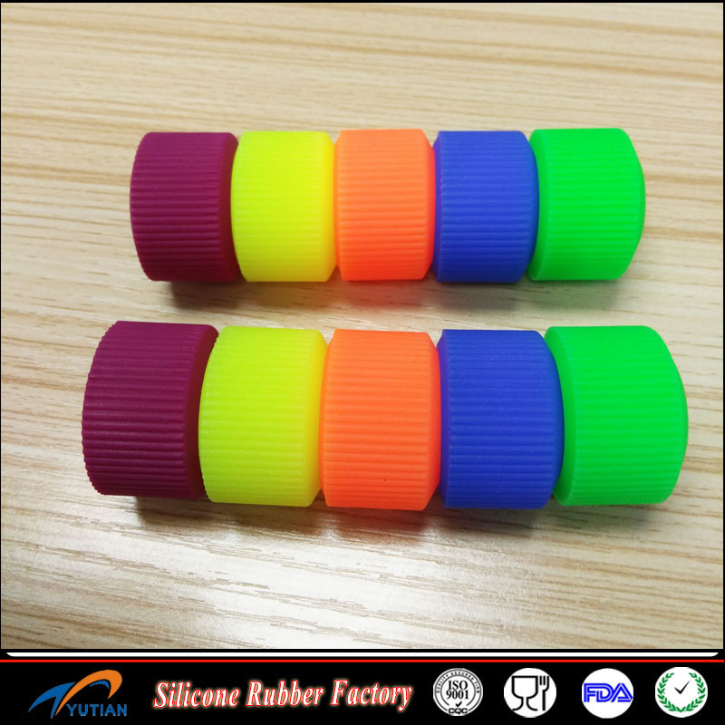 Universal DIY Colorful Silicone Bike Anti-slip Handle Bar Grips Cover