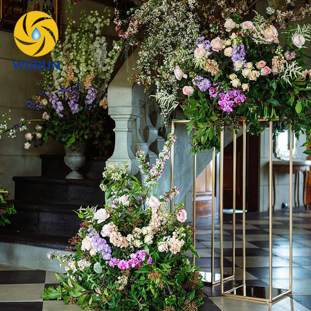 wedding flower stands for sale customized sized ral color design for you decoration metal 9523