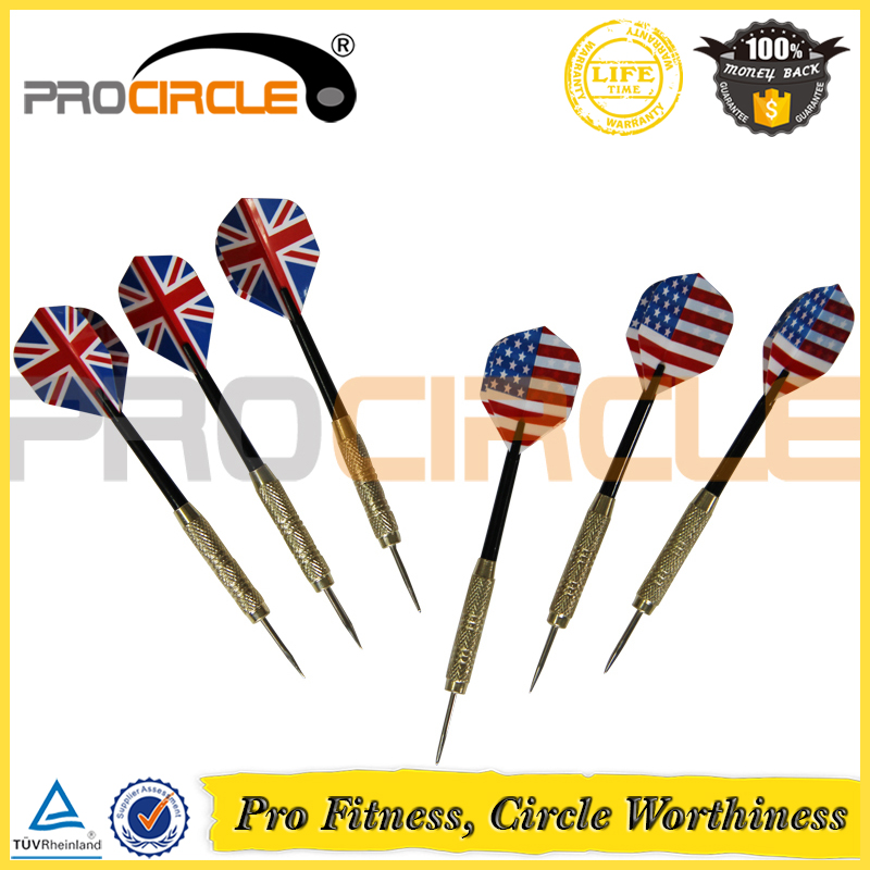 Steel Needle Tip Dart Darts with National Flag