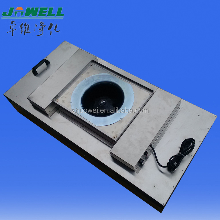 ventilation air exhaust fan cleanroom FFU fan filter unit with hepa filter