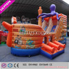 2015 New octopus inflatable slide for kids/inflatable bouncer