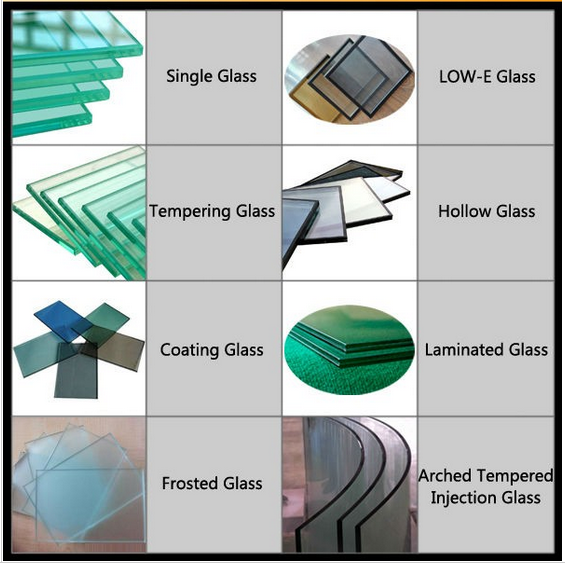 Horizontal glass louver shutter window glass window buy for Types of window panes