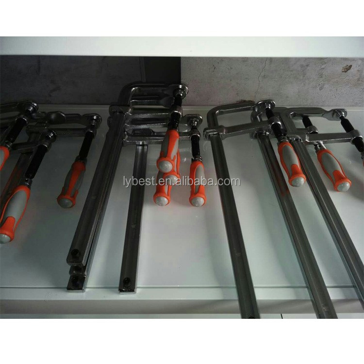 German style F clamp design, low price heavy duty F clamp tool