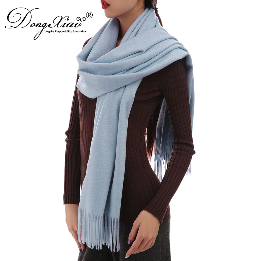 2018Spring Fashion Accessories Pure Color Knitted Winter Woven Light Scarf