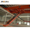 2 x 0.4kW Horizontal section power trade assurance multi-purpose belt stacking conveyor for truck loading unloading