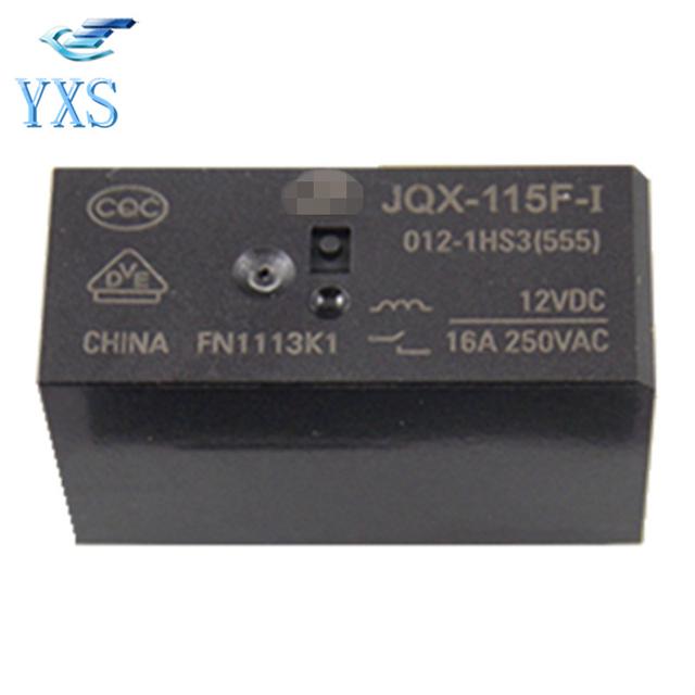 JQX-62F-012-1H(555) 20A 125VAC 16A 250VAC 16A 30VDC Small Power Relay TDO