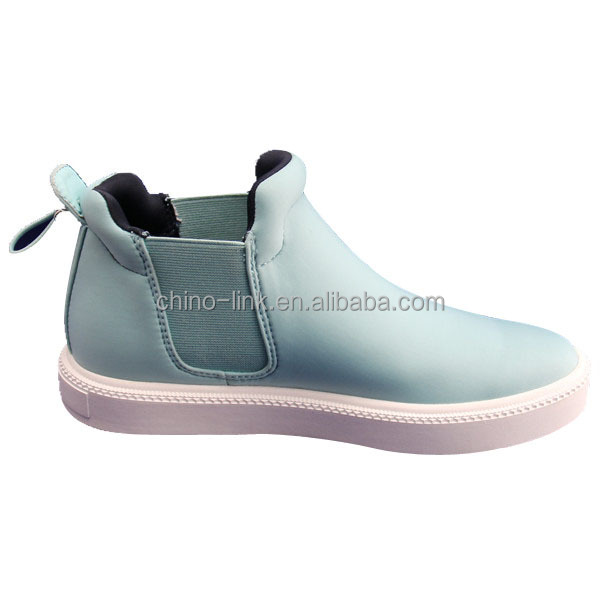 Slip-on design comfortable china ankle woman boot 2015