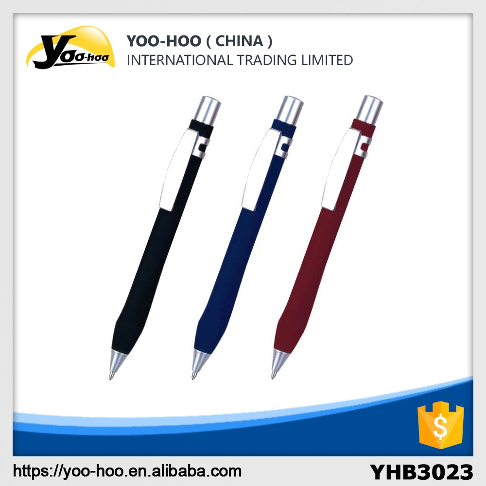 Promotional durable metal ballpen parker refill with customized logo for office
