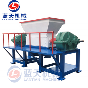 Made in China and direct supply widely used plastic bottles crushing shredder small waste glass recycling machine for sale