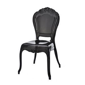 Wholesale Cheap Price PC Plastic Chair Plastic High Back Plastic Throne Chair