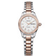 Pink Gold and Stainless Steel Women's Automatic Watch with NH06 Automatic Movement