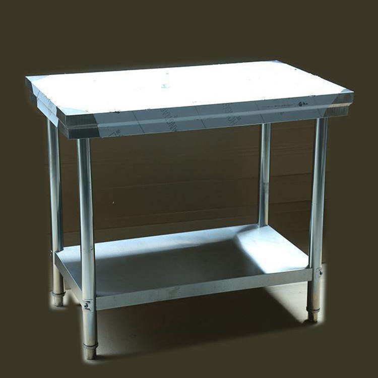 Foldable Restaurant Kitchen Equipment Catering Stainless Steel Inox Work Table