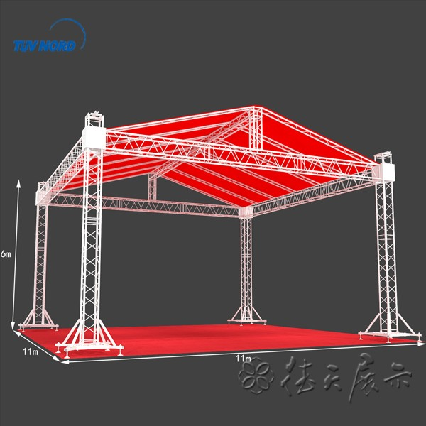 Spigot Truss System Aluminum Truss Tent With Height