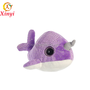 New Design Soft Large Size Plush Narwhal Stuffed Animal Narwhal