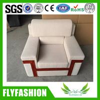 classic wooden sofa office single sofa design office reception sofa